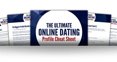 an inside look at The Ultimate Online Dating Profile Cheat Sheet: multipage view